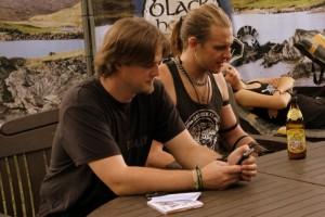Stefan & Prinz Hodenherz (Copyright: DeepGround Magazine)