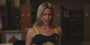 Das Make-up leidet, wenn man (auf) einen Zombie trifft (Copyright: Tiberius Film)