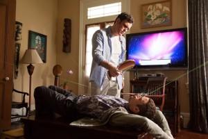 Matt Dillon und Elijah Wood in einer ausweglosen Situation (Copyright: Universum Film)