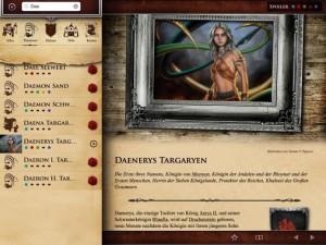Detaillreiche Profile der Charaktere (Copyright: Blanvalet)
