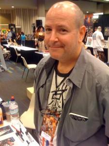 Mike Mignola auf der Dragon Con, 2009 (Copyright: Mike Mignola)