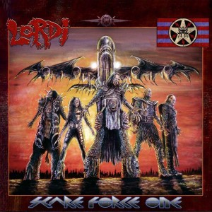 "Coverartwork von ""Scare Force One"" (Copyright: AFM Records)"