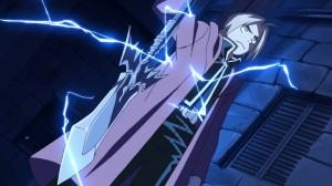 """Eindrucksvolle Effekte der Alchemie - Produktionsstudio """"Bones"""" hat ganze Arbeit geleistet. (Copyright: KSM Anime)"""