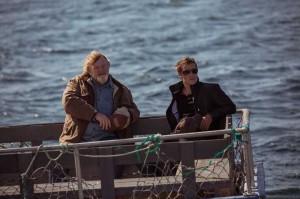 Ein ungleiches Paar: Murray French (Brendan Gleeson) und Dr. Paul Lewis (Taylor Kitsch). (Copyright: Universum Film)