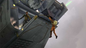 Auf das Team warten allerlei Gefahren und viel Action. (Copyright: Walt Disney Studios Home Entertainment & TM 2014 Lucasfilm Ltd.)