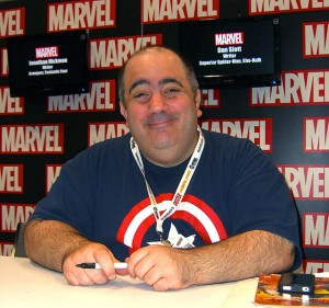 Dan Slott auf der New York Comic Con 2012 (Copyright: Luigi Novi / Wikimedia Commons)