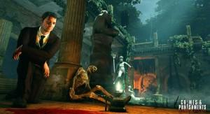 Genaues Beobachten, Hinweisen nachgehen und geschicktes Kombinieren ist gefragt, wenn die Spieler in die Rolle des weltberühmten Detektivs schlüpfen. (Copyright: Frogwares / Focus Home Interactive)
