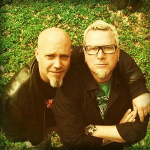 Comedians Lars Niedereicholz & Ande Werner als Mundstuhl (Copyright: Chris Roth)