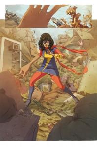 """""""Kamala"""" entdeckt ihre neuen Kräfte. (Copyright: Marvel Comics)"""