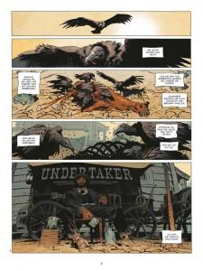 Nicht beliebt und doch sympathisch: Undertaker Jonas Crow (Copyright: Splitter Verlag)