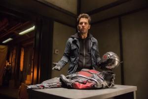 Enttäuschung nach einem ansonsten gelungen Einbruch - Marvel's Ant-Man Scott Lang (Paul Rudd) (Copyright: Zade Rosenthal / © Marvel 2014)