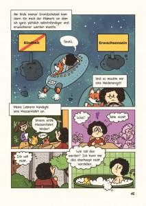 """Von der Kindheit zum Erwachsenwerden: Keine leichte Aufgabe, erst recht nicht als Asperger-Autistin. Leseprobe aus """"Schattenspringer 2"""" (Copyright: Panini Verlag)"""
