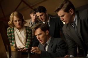 Alan Turing (Benedict Cumberbatch) und sein Team – haben Sie den Code endlich geknackt? | Copyright: Universum Film GmbH