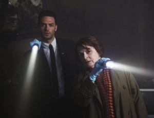 Bei der Arbeit: Vera Stanhope (Brenda Blethyn) und DS Joe Ashworth (David Leon) (Copyright: Edel:Motion)