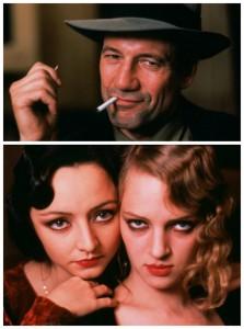 Komplizierte Beziehung: Anais Nin (Maria de Medeiros) zwischen Femme fatale June (Uma Thurman) und Liebhaber Henry Miller (Fred Ward). (Copyright: Koch Media)