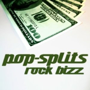 "Cover der Pop-Split-Ausgabe ""Rock Bizz"""