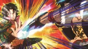 Kunterbunte Action - Dieser Anime sprüht mit Farbe nur so über. (Copyright: 2014 Project-D)