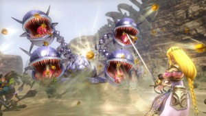 """Die Kämpfe in """"Hyrule Warriors"""" sind nicht immer einfach und daher recht fordernd. (Copyright: Nintendo)"""