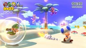 """Auf der Wii U sieht """"Super Mario 3D World"""" einfach herrlich aus. (Copyright: Nintendo)"""