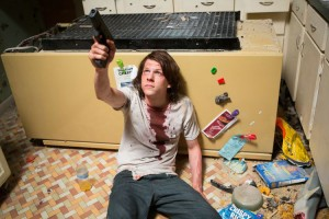 "Von Kiffer zur Kampfmaschine - Jesse Eisenberg als Mike in ""American Ultra"" (Copyright: Concorde Home Entertainment)"