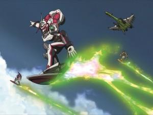 Mecha-Action mit beeindruckenden Animationen. (Copyright: 2005 BONES / Project EUREKA)