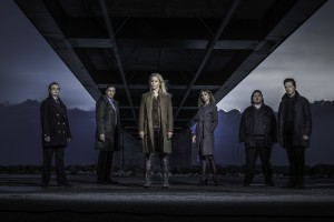 """Das Team der dritten Staffel von """"Die Brücke"""" (Copyright: Baldur Bragason / Edel:Motion)"""
