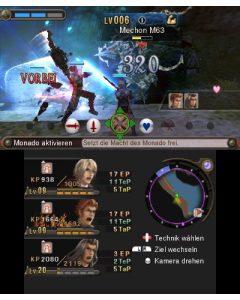 """Multitaskingfähigkeiten der Spieler sind in den Kämpfen von """"Xenoblade Chronicles 3D"""" nicht von Nachteil. (Copyright: Nintendo)"""
