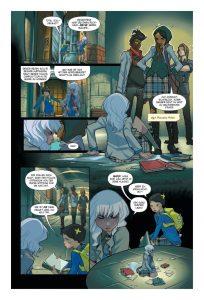 Für Olive läuft es dieses Jahr auf der Gotham Academy alles andere als rund (Copyright: Panini Verlag)