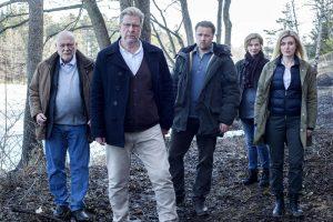 Sebastian Bergman und sein Team. (Copyright: Tre Vänner Produktion | Johan Paulin)
