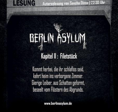 Bericht und Fotos: Berlin Asylum – Kapitel II (Berlin, 15.07.2016)