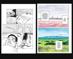 """Schwarz-weiß und in Farbe: Leseprobe aus """"Parasyte: Kiseijuu 1 (Copyright: Panini Verlag)"""
