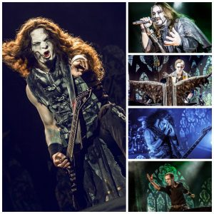 Powerwolf live (Copyright: Jenny Dorn)