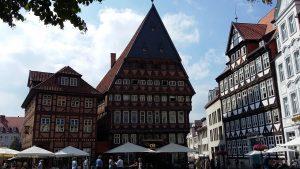 Marktplatz Hildesheim (Copyright DeepGround, Maria)
