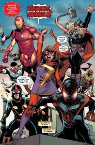 """Leseprobe aus """"Avengers 1"""" (Copyright: Panini Verlag)"""