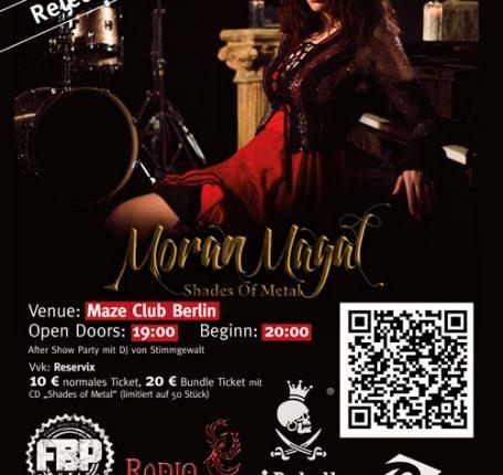 Veranstaltungstipp: Moran Magal - Releasekonzert (26.08., Berlin)