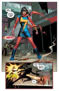 """Leseprobe aus """"Avengers 2"""" (Copyright: Panini Verlag)"""