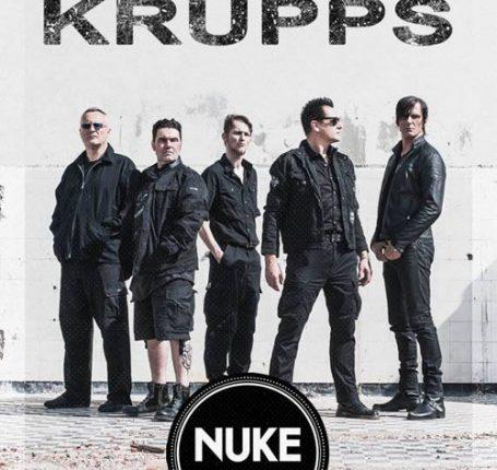 Bericht und Fotos: Die Krupps / Support: Enemy I (Berlin, 02.09.2016)