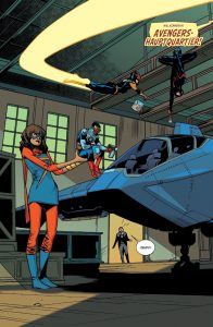 """Einblick in """"Avengers #3"""" (Copyright: Panini Verlag)"""