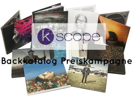 Backkatalog Preiskampagne beim Prog Rock Label KSCOPE (01.11.-31.12.)