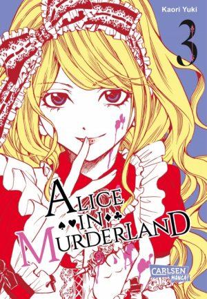 Kaori Yuki - Alice in Murderland, Band 3. (© Carlsen Comics)